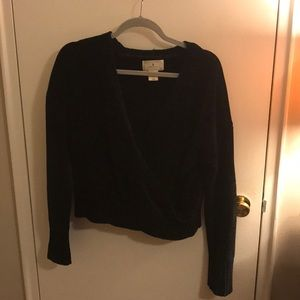 Ruby Moon criss-cross sweater XL